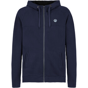 E9 Free UD Fleece Jacket Men, blauw